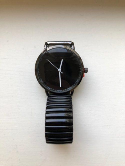 Horloge Black Ernest-sieraden Label-L