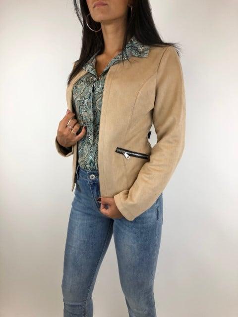 Blazer Kim Camel Gemma riccerie-Blazers Label-L2